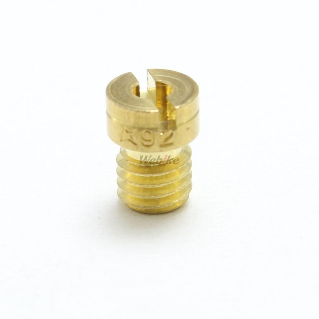 【KITACO】主油嘴 #92(Keihin化油器・圓型・大) - 「Webike-摩托百貨」