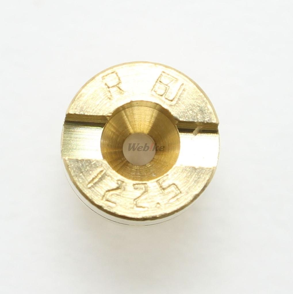 【KITACO】主油嘴 #122.5(Mikuni化油器・圓型・小) - 「Webike-摩托百貨」