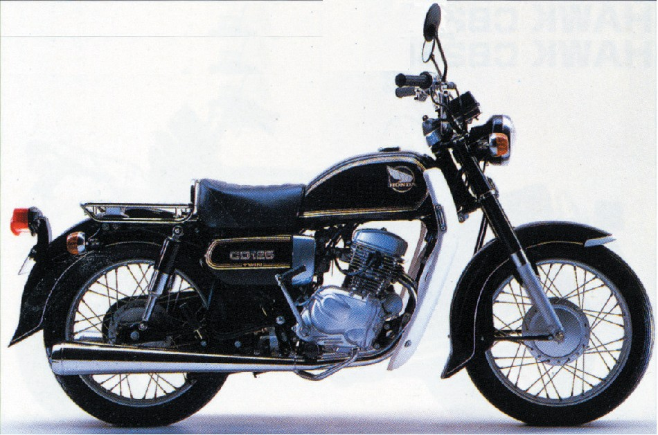 HONDA&nbsp;CD125
