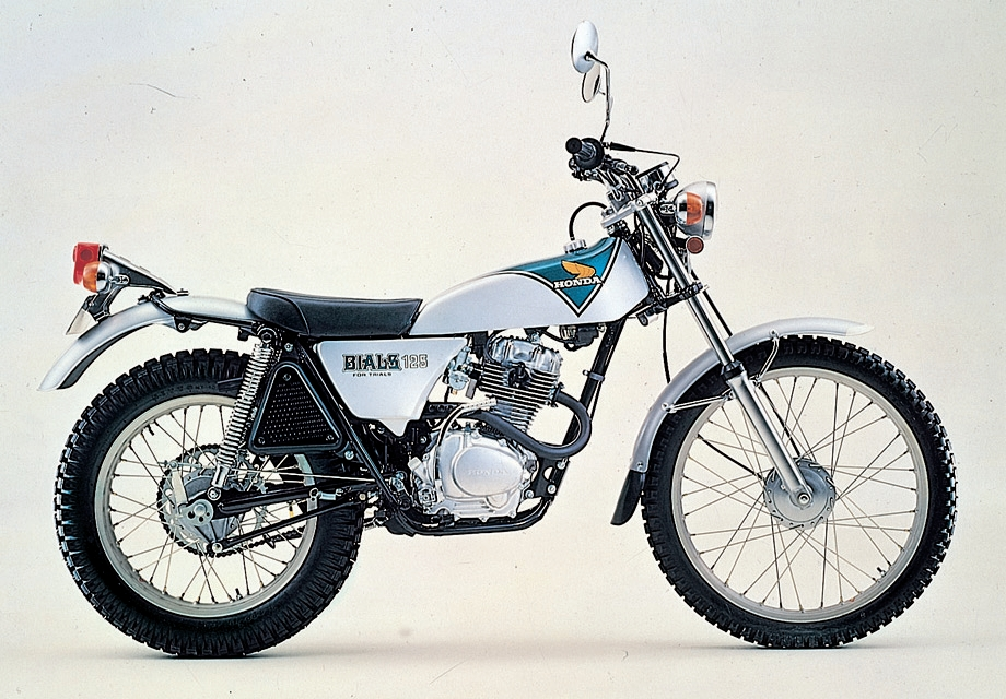 HONDA&nbsp;TL125 BIALS