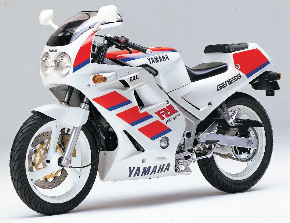 Yamaha Fzr White