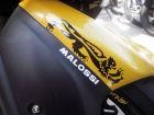 【MALOSSI】白色・Malossi logo7.5cm 貼紙 - 「Webike-摩托百貨」