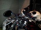 【YAMAHA】琵琶型 藍色鏡面後視鏡 (右) - 「Webike-摩托百貨」