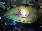 【MINIMOTO】Monkey油箱用立體銘板左右一組銀 - 「Webike-摩托百貨」