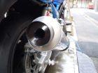 【N PROJECT】通用型鋁合金排氣管消音尾蓋  黒色陽極處理 58Φ用(外徑57.5Φ) - 「Webike-摩托百貨」