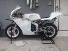 TIME IS ( Damage ) DAMAGE racing Seat cowl Type4 White