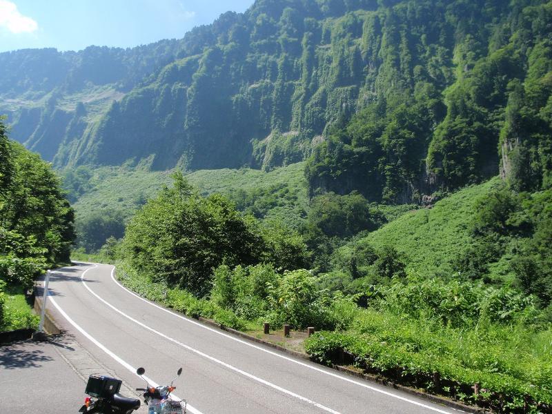 カブで1,000キロ日帰りツーリング(茨城→富山)
