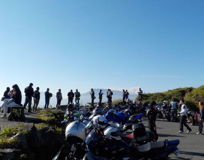 阿蘇大観峰の朝