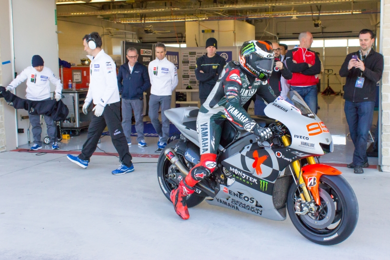 【YAMAHA】MotoGP Testing in Texas Webike ギャラリー ウェビックギャラリー