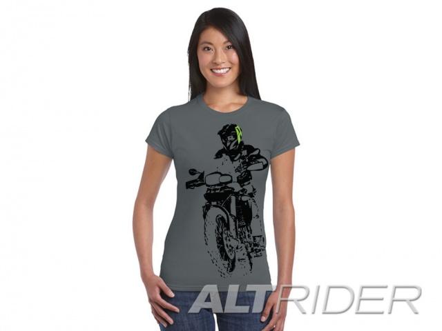 AltRider アルトライダーF 800 Throttle Up Women's T-Shirt レディース