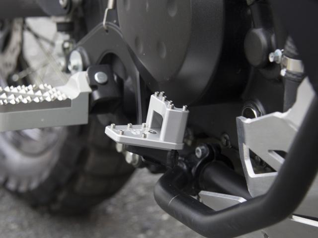 AltRider KL11-2-2512 DualControl 25.4mm Riser for the Kawasaki KLR 650 2011-current - Black