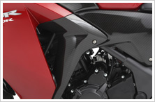 【HONDA】Middle 面板:碳纖維印刷型式 - 「Webike-摩托百貨」