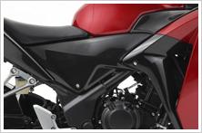 【HONDA】側蓋:碳纖維印刷型式 - 「Webike-摩托百貨」