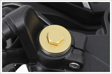 【HONDA】前叉螺絲:金色款式 - 「Webike-摩托百貨」