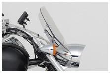 【HONDA】Boulevard擋風鏡:smoked type - 「Webike-摩托百貨」