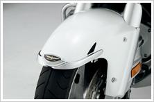【HONDA】前土除裝飾品:鍍鉻型式 - 「Webike-摩托百貨」