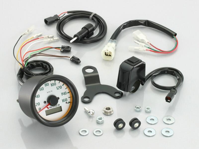 【KITACO】160km/h速度錶套件 - 「Webike-摩托百貨」