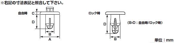 【K-CON】推入式塑膠鉚釘扣 - 「Webike-摩托百貨」