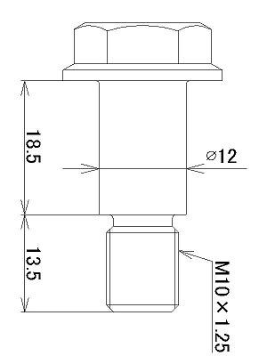 【JB POWER(BITO R&D)】鉻鉬合金側柱輪軸芯螺絲 - 「Webike-摩托百貨」