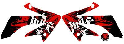 【MDF】XR230Bloody貼紙 水箱罩貼紙組 - 「Webike-摩托百貨」