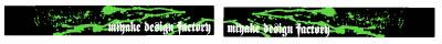 【MDF】KDX220Bloody貼紙後搖臂貼紙組 - 「Webike-摩托百貨」