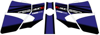【MDF】貼紙組 Attacker 式樣 水箱罩貼紙組 - 「Webike-摩托百貨」
