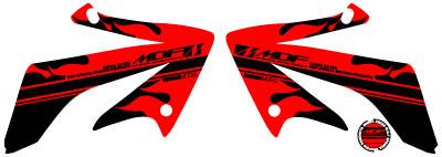 【MDF】XR230Fire貼紙 水箱罩貼紙組 - 「Webike-摩托百貨」