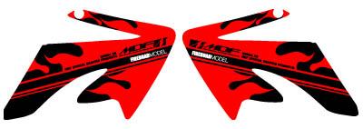 【MDF】XR50/100MOTAFire貼紙 水箱罩貼紙組 - 「Webike-摩托百貨」