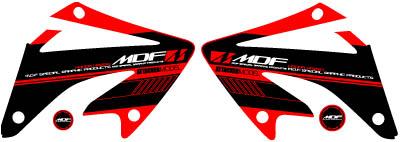 【MDF】XR250越野樣式側蓋貼紙 - 「Webike-摩托百貨」