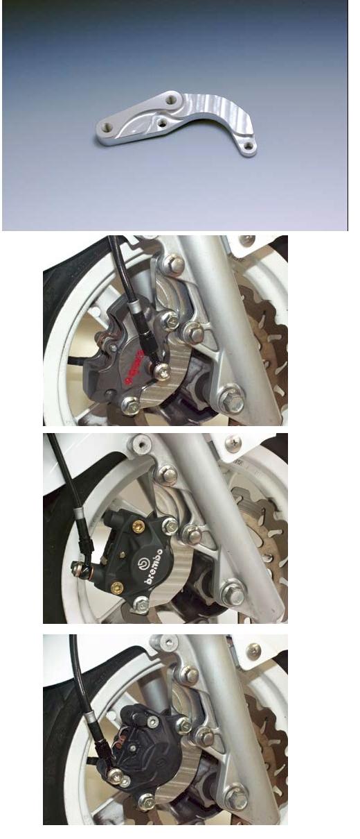 【N PROJECT】SPT Cygnus X 卡鉗座 (Brembo卡鉗用) - 「Webike-摩托百貨」