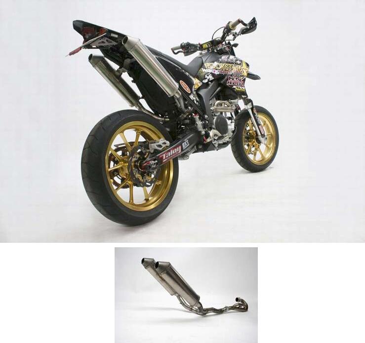 【N PROJECT】WR250X 雙出排氣管前段 - 「Webike-摩托百貨」