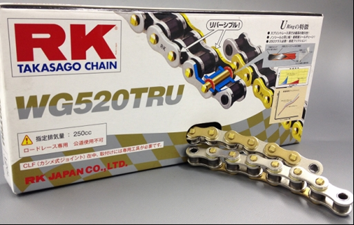【RK】WG520TRU 120L 鍊條 - 「Webike-摩托百貨」