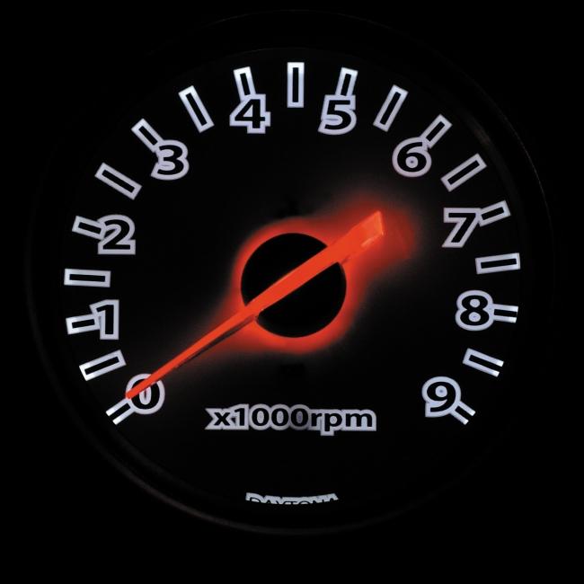 【DAYTONA】電子式轉速儀錶(LED照明) - 「Webike-摩托百貨」