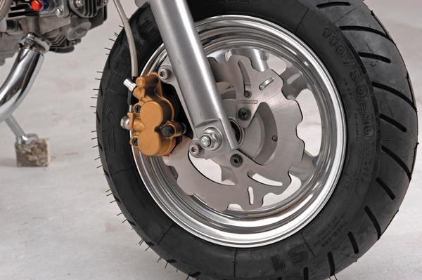 【DAYTONA】前煞車碟盤煞車套件(190mm 浪花型煞車碟盤) - 「Webike-摩托百貨」