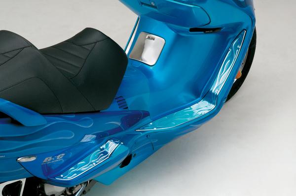 【DAYTONA】腳踏板(火焰圖案) - 「Webike-摩托百貨」