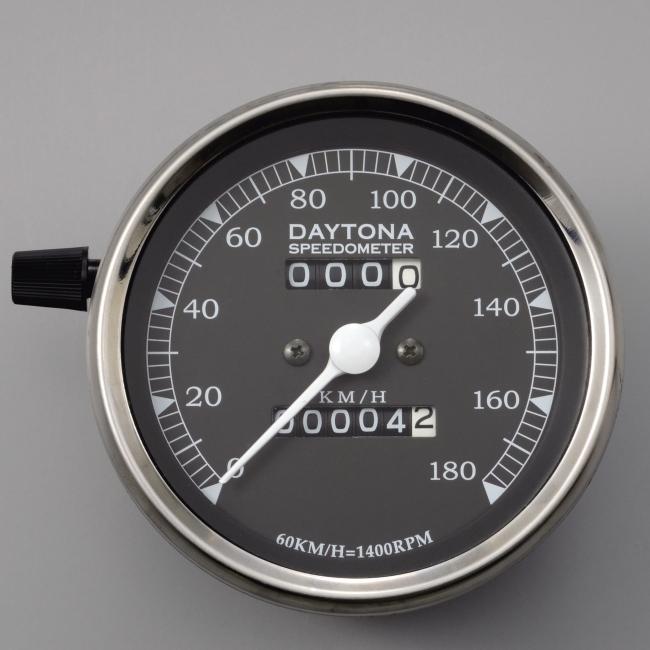 Φ85 Mechanical Speedometer with LED Light