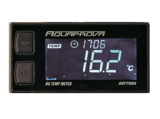 【DAYTONA】AQUAPROVA 【防水車輛檢測計】 HG 溫度錶 - 「Webike-摩托百貨」