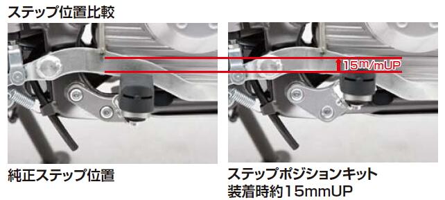 【DAYTONA】UP 腳踏支架套件 - 「Webike-摩托百貨」