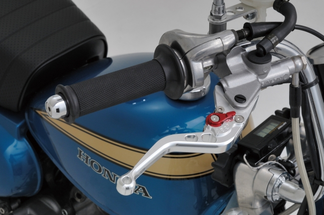 【DAYTONA】鋁合金切削加工製造調整拉桿(短) - 「Webike-摩托百貨」