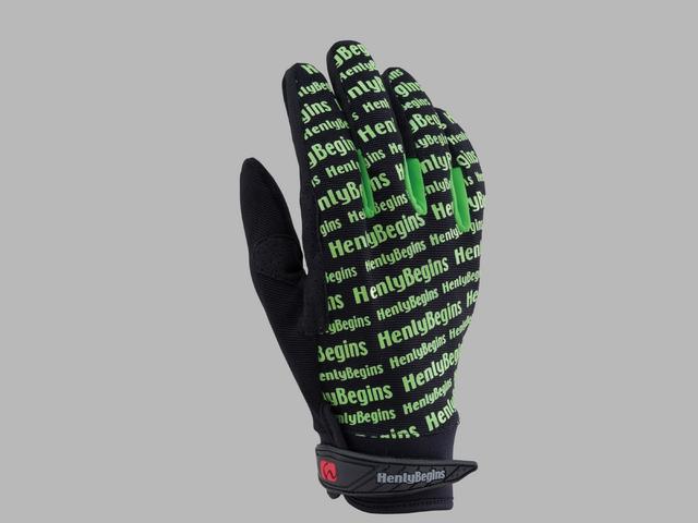 【HenlyBegins】HBG-006 LOGO手套 - 「Webike-摩托百貨」
