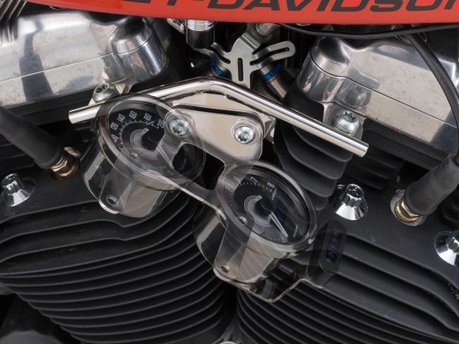 【DAYTONA】引擎儀錶固定架 【雙錶用】 - 「Webike-摩托百貨」