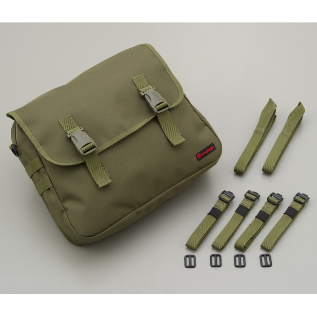 Saddle Bag Military Green/10L