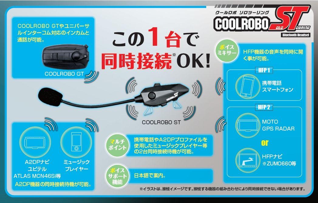 【DAYTONA】COOLROBO ST 通訊系統套件 - 「Webike-摩托百貨」