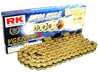 【RK】Racing 系列 金色鍊條 (VG520FWR) - 「Webike-摩托百貨」