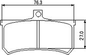 【AP Racing】煞車皮TYPE-C - 「Webike-摩托百貨」