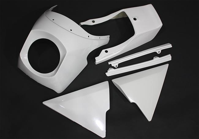 【PMC】Z1R 玻璃纖維 前整流罩 (未塗裝底漆式樣) - 「Webike-摩托百貨」