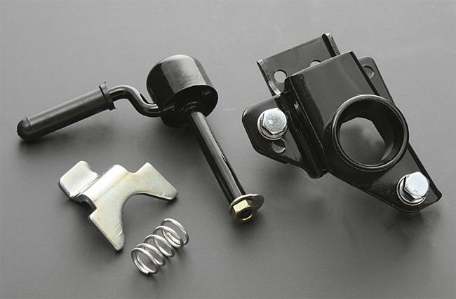 【PMC】Z1/Z2 座椅鎖 不銹鋼座椅鉤爪&桿組 - 「Webike-摩托百貨」