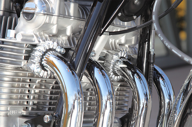 【PMC】Z/KZ系 排氣管法蘭接頭組 - 「Webike-摩托百貨」