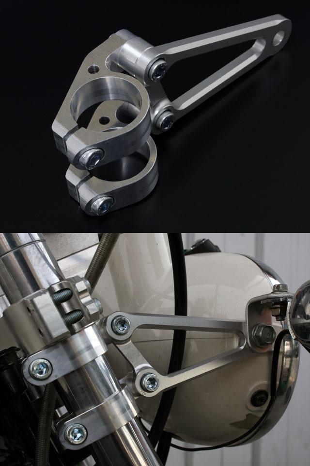 【G-Craft】φ31前叉專用頭燈支架Type2 - 「Webike-摩托百貨」