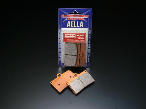 【AELLA】陶瓷碳纖維煞車皮(碟式煞車) - 「Webike-摩托百貨」